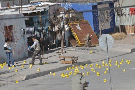 Acribillan a familia en Ciudad Juárez. Foto: Ricardo Ruíz