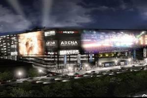 La maqueta de la Arena México. Foto: Especial