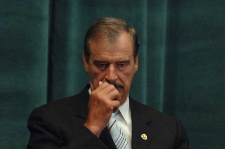 Vicente Fox, expresidente de México. Foto: Miguel Dimayuga