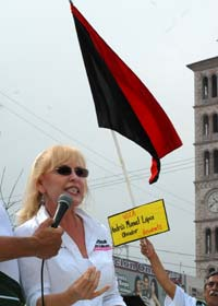 Cristina Sada Salinas, candidata al Senado por el Movimiento Progresista. Foto: Juan Cedillo