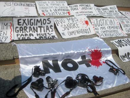 Oaxaca. Condenan asesinato de periodistas en Veracruz. Foto: Óscar Alvarado