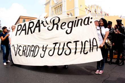 Repudian el asesinato de Regina Martínez en Veracruz. Foto: Miguel Ángel Carmona