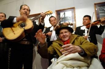 2009. Fallece Hector García (1923-2012), el fotógrafo de la ciudad. Foto: Miguel Dimayuga