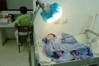 """El Hospital General de Quintana Roo, """"Jesús Kumate"""", en la ciudad de Cancún. Foto: Eduardo Miranda"""