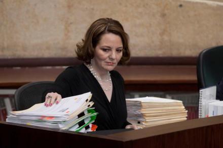 La magistrada María del Carmen Alanís. Foto: Eduardo Miranda
