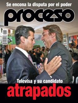 Peña Nieto y Azcárraga. Foto: Adrián Ruiz/Reforma