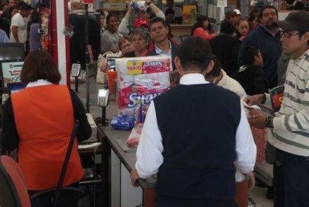 Tienda departamental Soriana en el DF. Foto: Benjamin Flores / Proceso