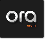 El logo de ORA TV