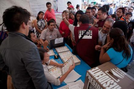 Jornada electoral 2012. Foto: Octavio Gómez