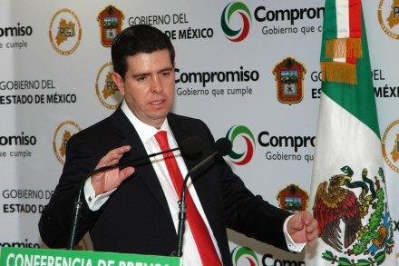 Alfredo Castillo, extitular de Profeco. Foto: David Deolarte