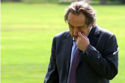 El presidente de la Liga Mx, Decio de María. Foto: Eduardo Miranda