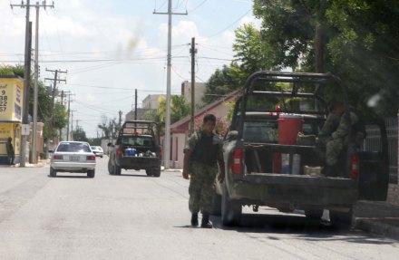 Militares en Tamaulipas. Foto: Benjamin Flores