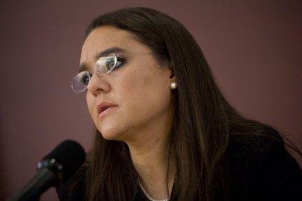 Alejandra Sota, exvocera de la Presidencia. Foto: Octavio Gómez