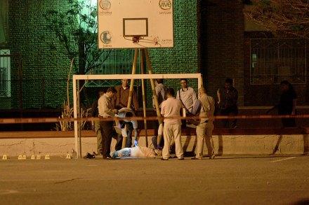 Ciudad Juárez. Asesinan a futbolista llanero. Foto: Ricardo Ruíz