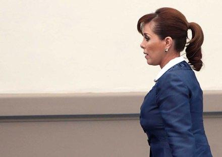La extitular de la Procuraduría General de la República (PGR), Marisela Morales. Foto: Germán Canseco