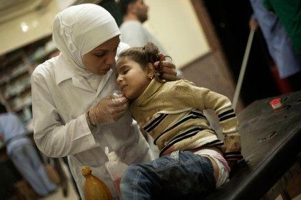 Aleppo, Siria. La guerra contra los niños. Foto: AP / Manu Brabo