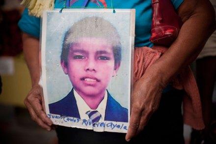 Madres de migrantes desaparecidos protestan en el DF. Foto: Xinhua / Rodrigo Oropeza