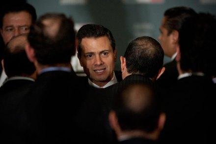 El presidente electo Enrique Peña Nieto. Foto: Xinhua / Rodrigo Oropeza