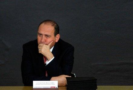 Rubén Moreira Valdez, gobernador de Coahuila. Foto: Germán Canseco