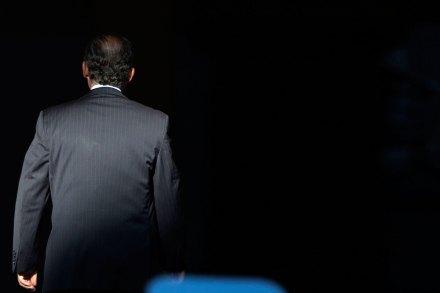 Felipe Calderón, titular del Ejecutivo. Foto: Octavio Gómez
