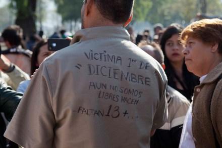 Liberan a 56 estudiantes acusados de participar en los disturbios del 1 de diciembre. Foto: Eduardo Miranda