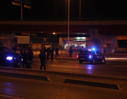 El hallazgo de los cuerpos en Saltillo. Foto: Blog del Narco