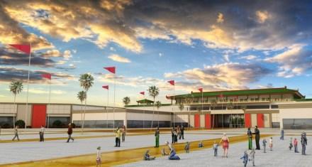 Una de las maquetas del proyecto Dragon Mart. Foto: Yo Cancún