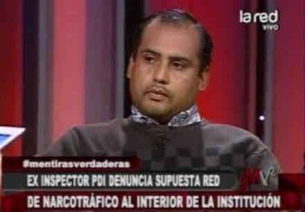 El inspector de la Policía de Investigaciones de Chile (PDI), Fernando Ulloa. Foto: Especial