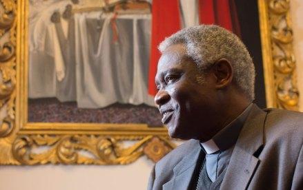 El cardenal ghanés Peter Turkson. Foto: AP