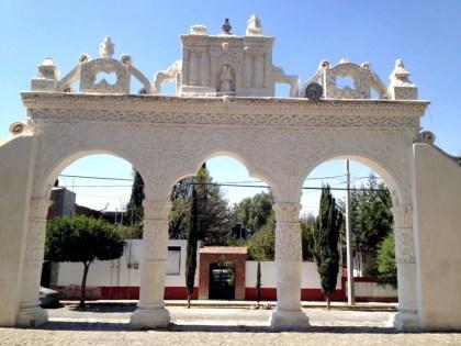 Una de las arcadas reales. Foto: Armando Gutiérrez