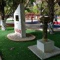 La desaparición del busto de Sabines en Chiapas. Foto: Especial
