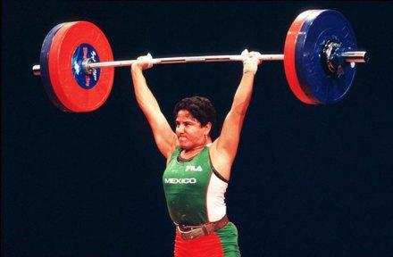 Soraya Jiménez, medallista olímpica. Foto: AP