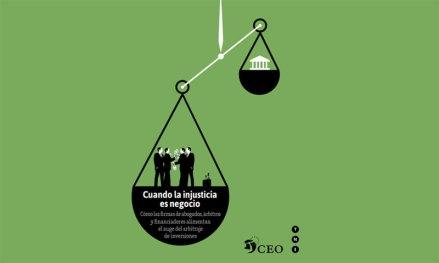 La portada del informe Cuando la injusticia es negocio.