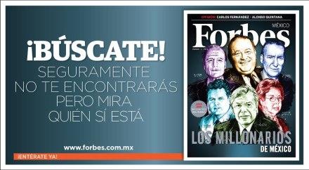 """La """"humillante"""" publicidad de Forbes."""