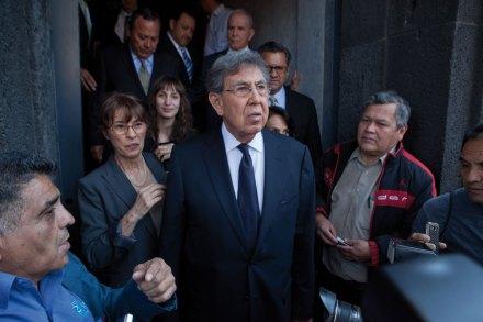 El excandidato presidencial, Cuauhtémoc Cárdenas. Foto: Miguel Dimayuga