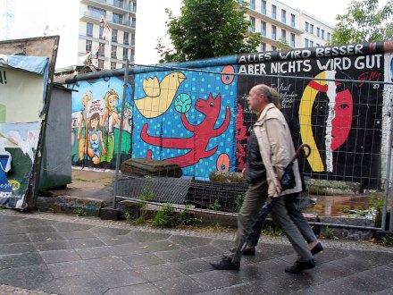 Un fragmento del muro de Berlín. Foto: Fernando Gutiérrez