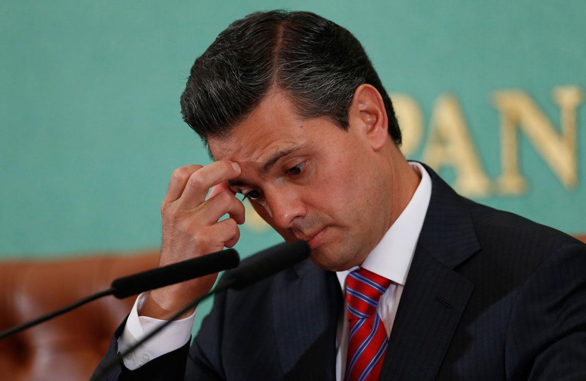 El titular del Ejecutivo, Enrique Peña Nieto, en Tokio. Foto: AP