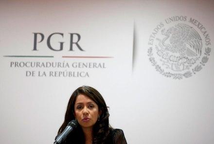 La subprocuradora Jurídica y de Asuntos Internacionales de la PGR, Mariana Benítez Tiburcio. Foto: AP / Eduardo Verdugo