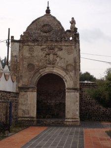 La capilla de Calpan. Foto: Armando Gutiérrez
