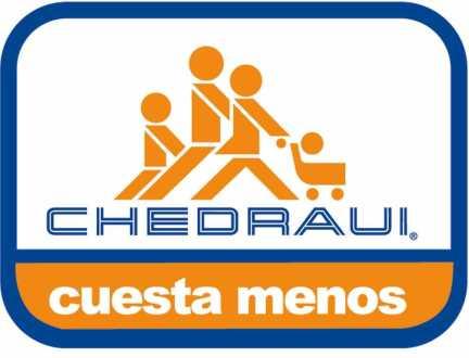 El logo de la cadena de autoservicio Chedraui.