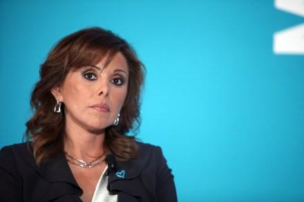 La exprocuradora Marisela Morales. Foto: Benjamín Flores.