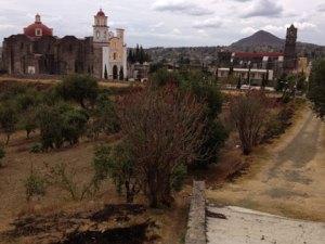 Una panorámica de San Andrés Calpan. Foto: Armando Gutiérrez
