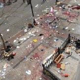 El atentado en Boston. Foto: AP