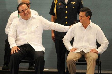 Duarte y Peña. Un desliz más en Veracruz. Foto: Yahir Ceballos