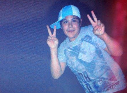 Jorge Armando Moreno Leos, el niño que fue acusado de sicario. Foto: Especial