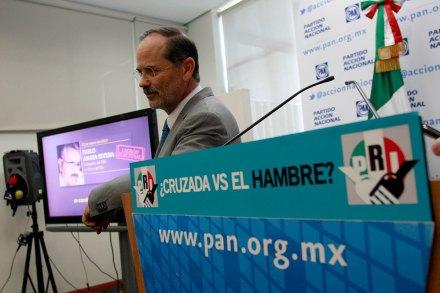 El líder del PAN, Gustavo Madero. Foto: Hugo Cruz