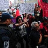 Nuevo León. Trabajadores conmemoran el Día del Trabajo. Foto: Miguel Ángel Reyna