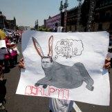 Trabajadores conmemoran el Día del Trabajo. Foto: Miguel Dimayuga