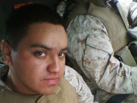 Armando Torres III, marine. Foto: AP