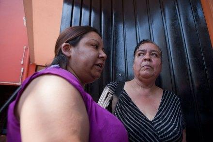 Malú García y Norma Andrade en la ciudad de México. Foto: Octavio Gómez
